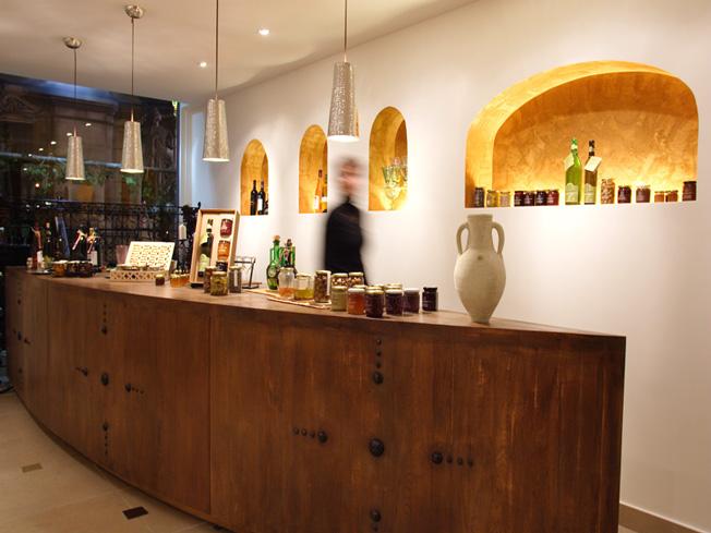 architecture int rieure pour la boutique le comptoir de tunisie paris 1er une r alisation de l. Black Bedroom Furniture Sets. Home Design Ideas