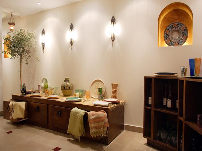 Architecture intérieure pour la boutique le comptoir de tunisie