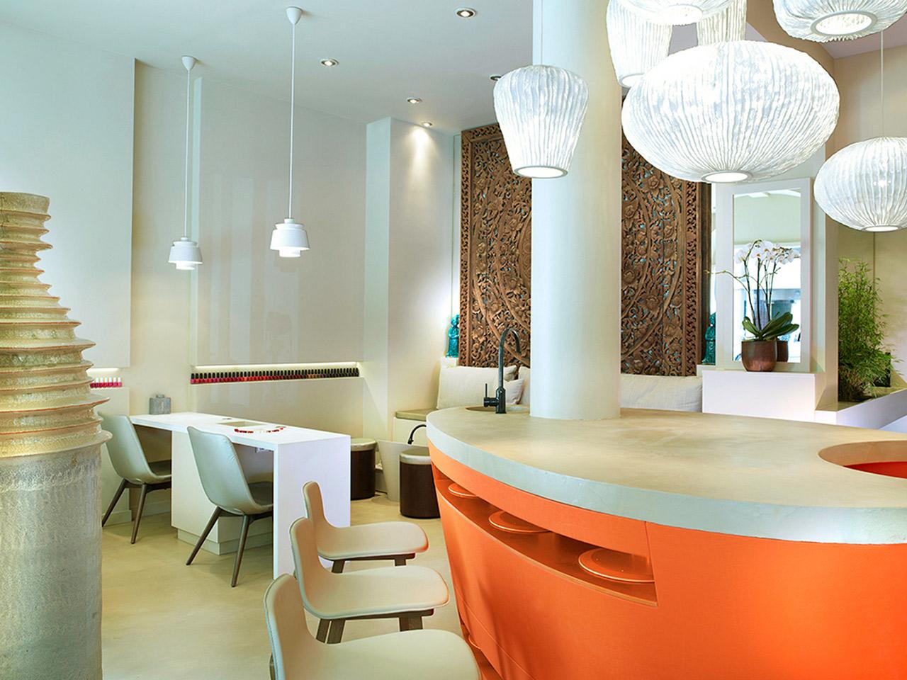 architecture int rieure pour l 39 institut nailsparis paris 16 me une r alisation de l 39 agence. Black Bedroom Furniture Sets. Home Design Ideas