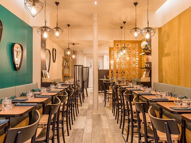 Restaurant Interieur Design.Interior Design For Le 120 Restaurant Paris 16 A