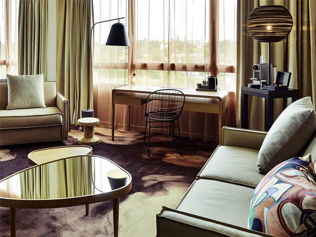 architecture int rieure pour l 39 h tel mercure lyon genas eurexpo genas une r alisation de l. Black Bedroom Furniture Sets. Home Design Ideas