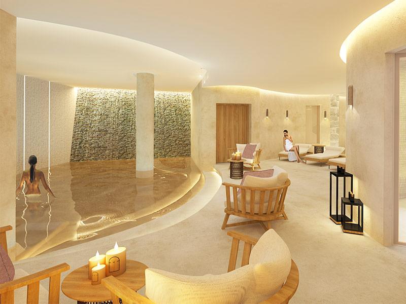 architecture int rieure pour l 39 h tel spa mgallery palais cardinal saint milion une. Black Bedroom Furniture Sets. Home Design Ideas